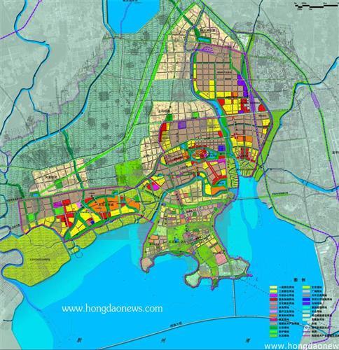 青岛高新区胶州湾北部区域规划图
