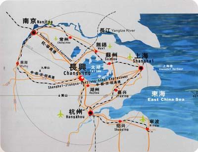 上海旅游景点地图分布