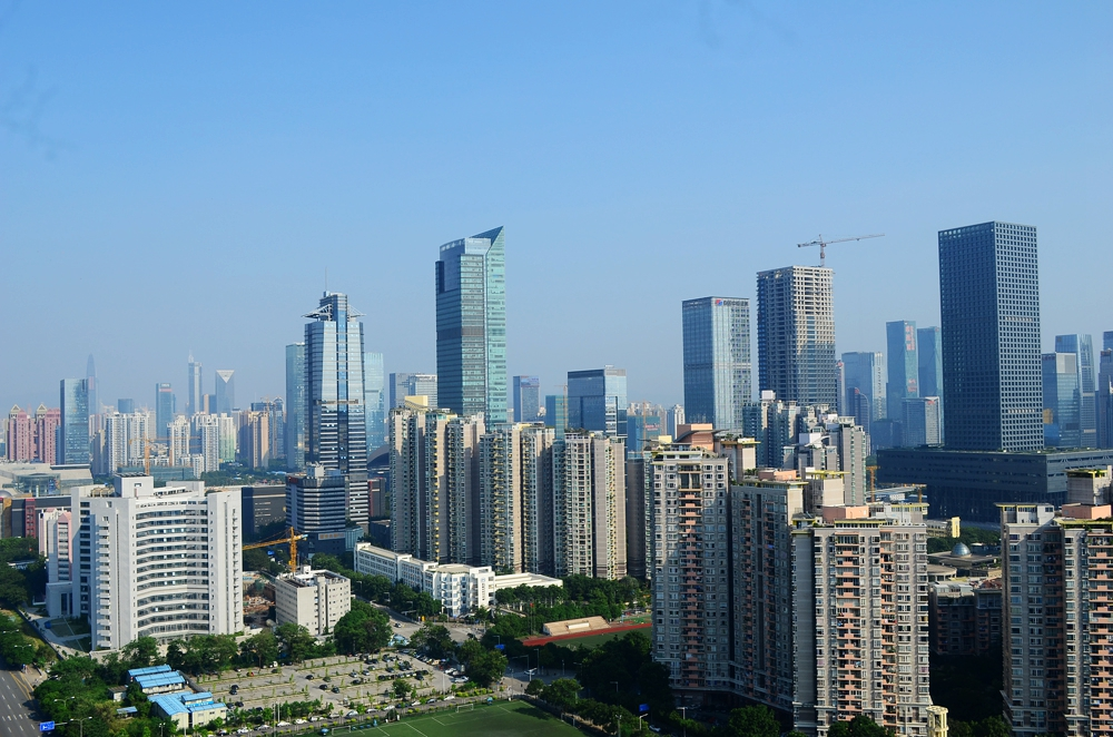 中国超一线城市深圳!