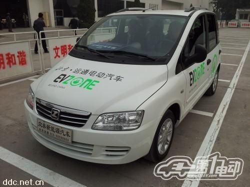 比亚迪最担心的竞争对手 众泰新能源汽车 高清图片