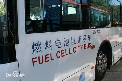 氢燃料电池车的工作原理
