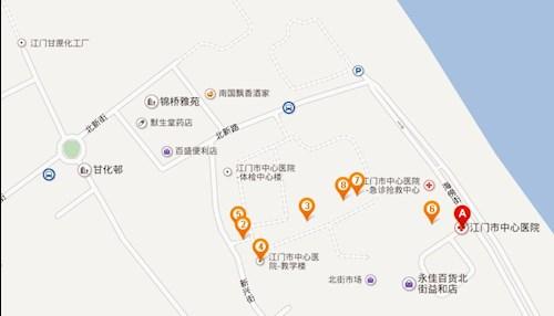 江门甘化公园规划图
