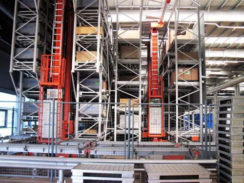 德国波森尾气系统公司对沈阳工厂自动化立体