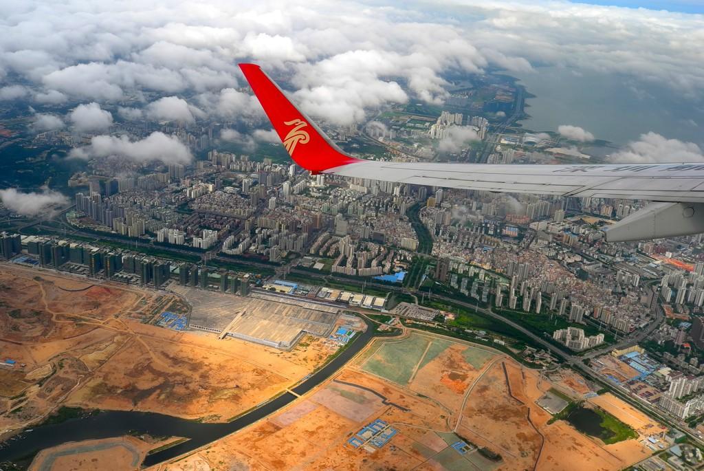 直接上图,坐飞机鸟瞰前海,中集的土地还是值几个钱的!