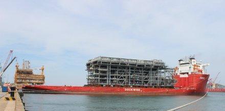 2015年海油工程海外订单比重超过60%