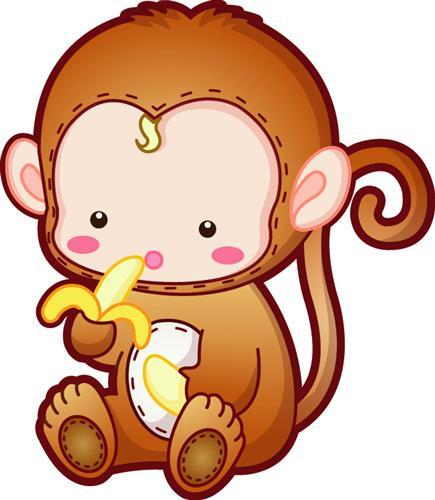 开心猴子可爱图片头像