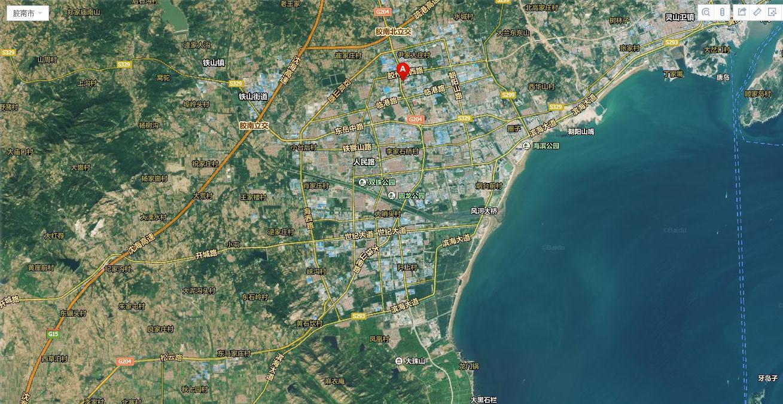 2018青岛海边地图手绘