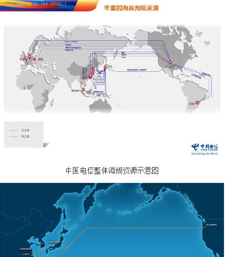 """国资委网站:""""新跨太平洋海底光缆工程""""启动"""