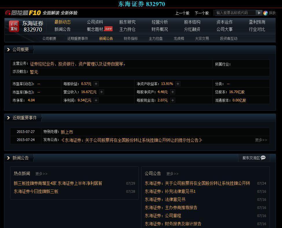 东方证券ipo上市_东海证券ipo_东方证券ipo排队