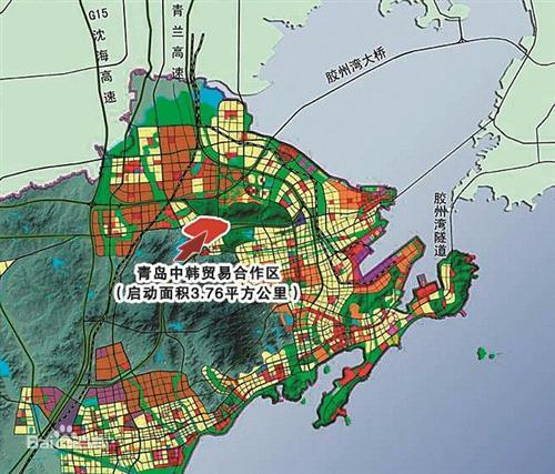 中韩自贸区, 青岛 国资委
