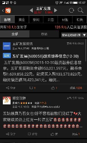 600058五矿发展