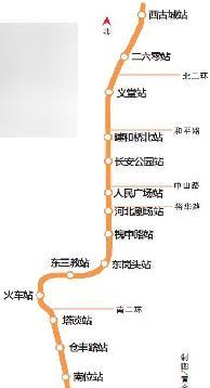 石家庄轨道交通2号线一期,建和桥北站,在棉1棉