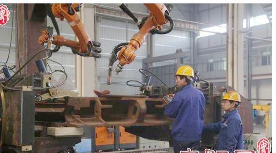 林州重机智能制造机器人彩图及新闻