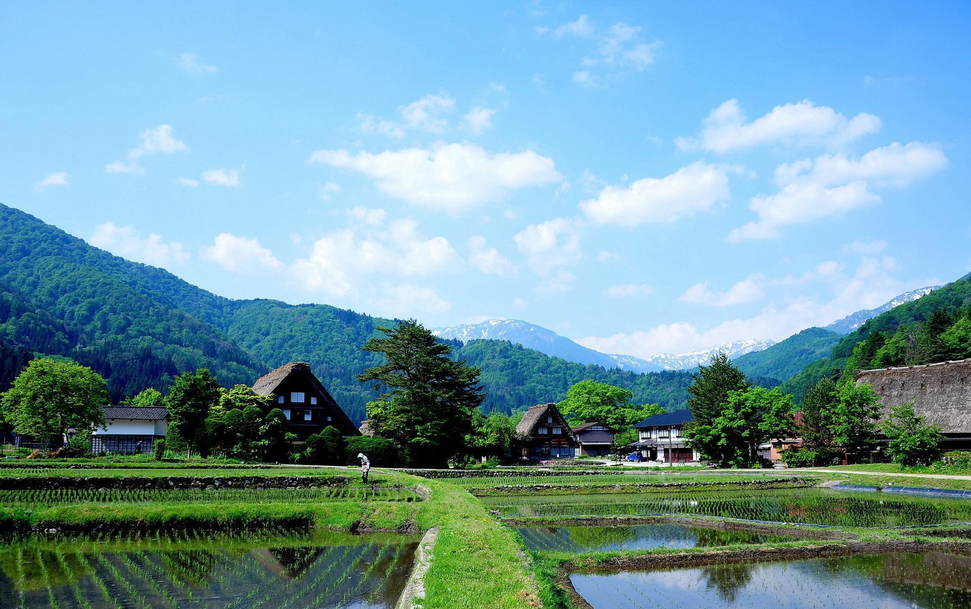如画的日本乡村,给了我们什么警示