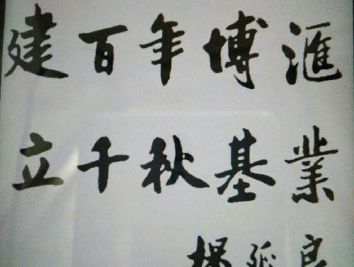 杨总写的字好看吗