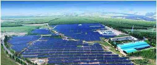 关注全国最大1500v高压光伏电站并网发电