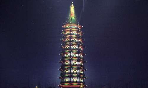南京大报恩寺 千年琉璃塔