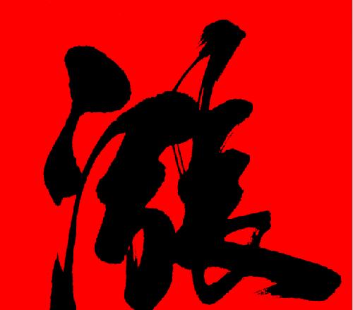 这个涨字是高大强的头像 新年红红火火 讨个彩头