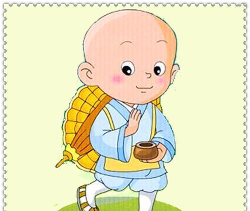 宝宝端水卡通图片