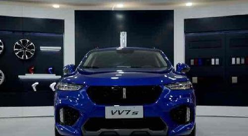 长城WEY全新VV7c VV7s首批车在京交付 6月10日,WEY的首款量产高清图片