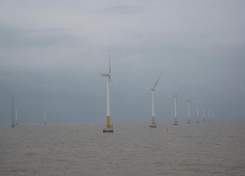 上海东海大桥风电场华锐风机