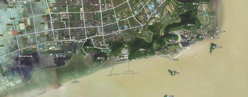 嘉兴市滨海新区总体规划图(2006-2020)中唐家湾美福码头地块早已规划
