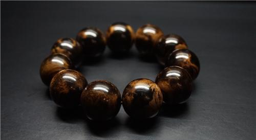 珠串设计 原创珠串 黑珊瑚海柳