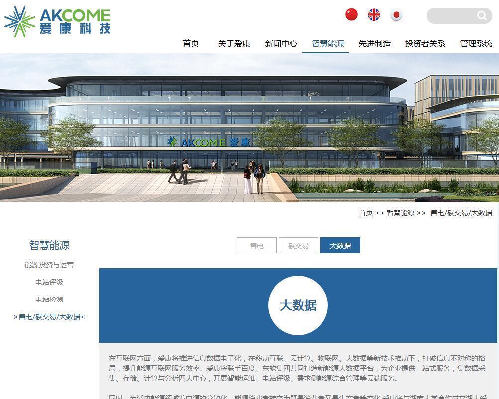 爱康科技公司官网资料,机构研报,都点名了公司是能源区块链