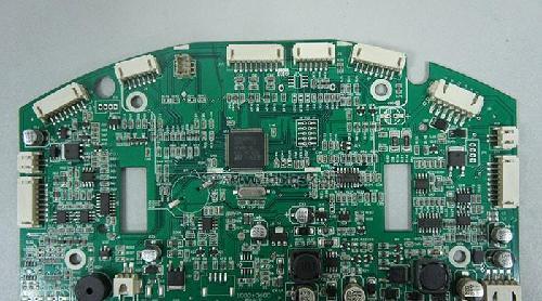 即将上市的科沃斯扫地机器人,,由易德龙提供电脑控制板