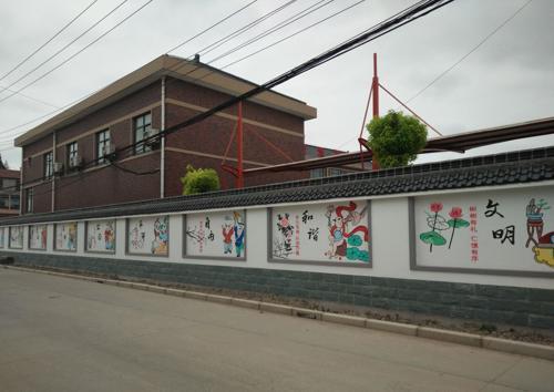 围墙彩绘,古建筑彩绘,中国梦主题墙绘,街道机关单位标语,企业文化墙