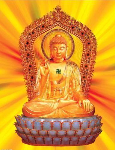 佛祖手心的图案