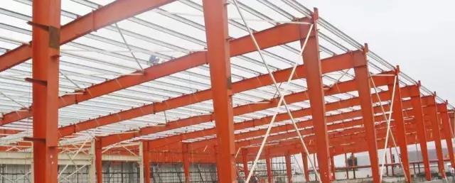 钢结构工业厂房,图和防火