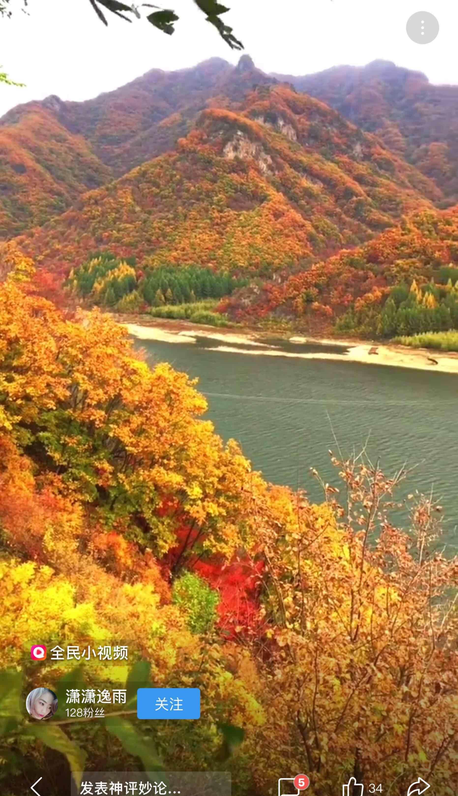 秋天最美的风景!