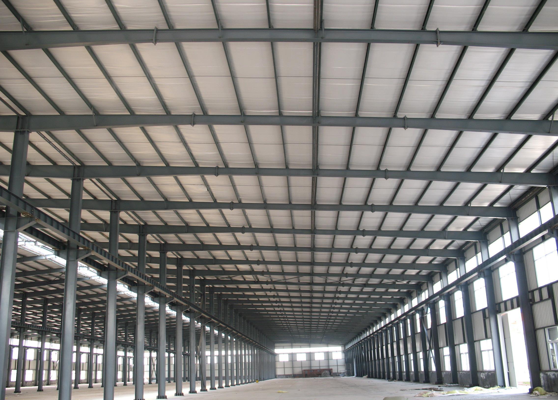 地坪钢结构厂房安装施工工艺